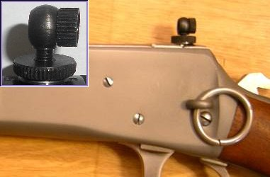Adjustable Bolt-Mounted Peep Sight Safety Replacement